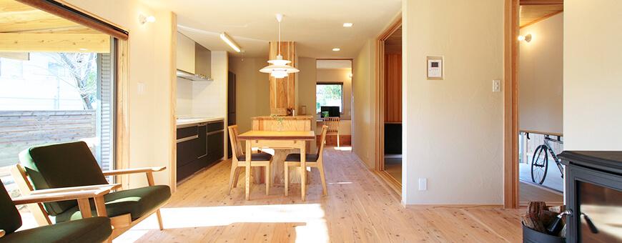 お客様が心から満足できる家づくりをする大分の工務店です。