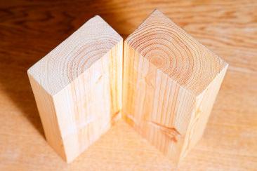 大分乾燥方式は割れがないので耐震住宅に適しています