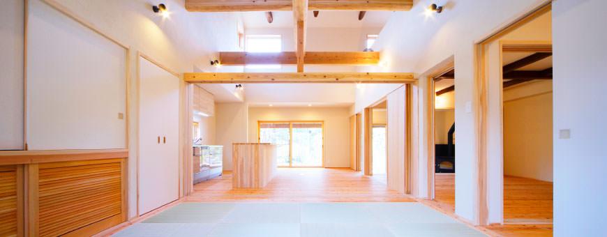大分市の自然素材を使った木の家なら「日本ハウジング」