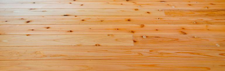 大分県産の木を使った床