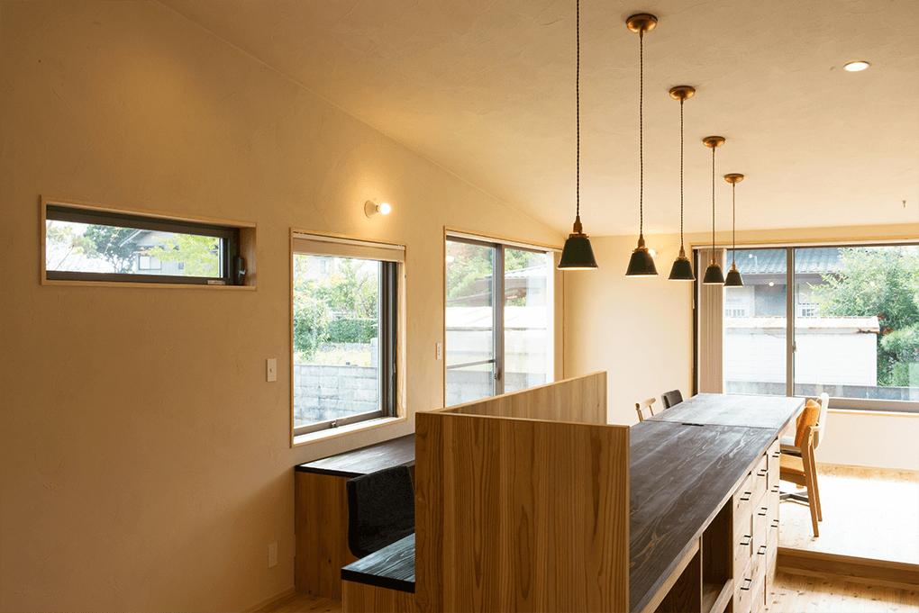 大分市の「日本ハウジング」で緑を活かした新築の平家を建てる