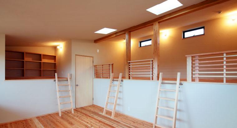大分市の新築一戸建てで憧れの子供部屋を実現しました