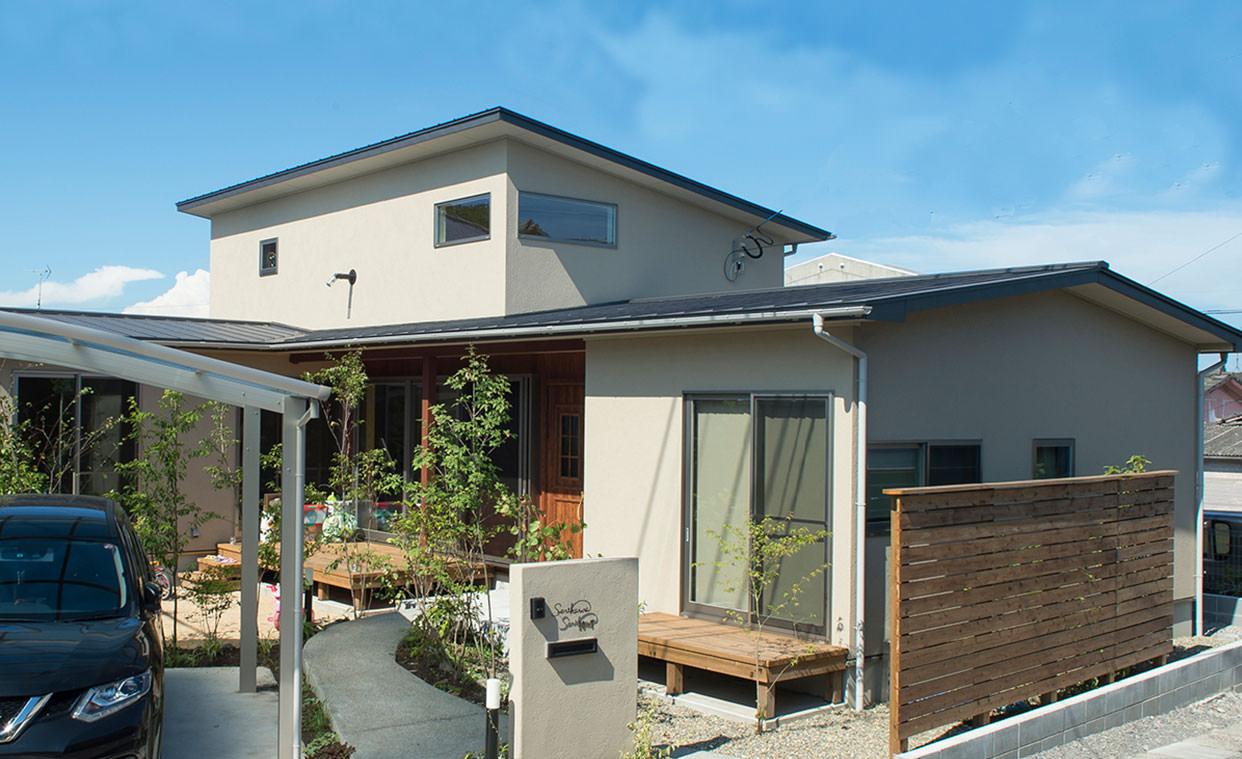 大分市の新築住宅の施工例