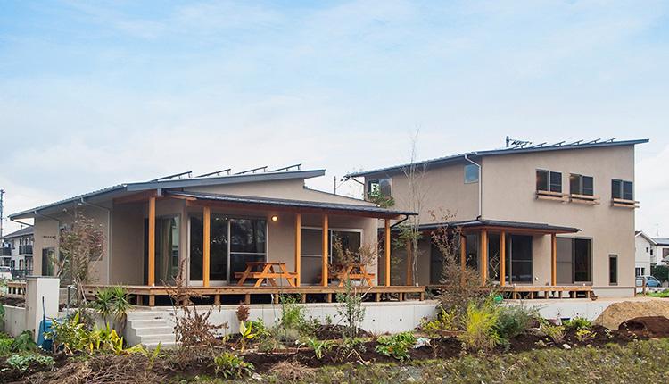 大分市で二世帯住宅の注文住宅を建てる
