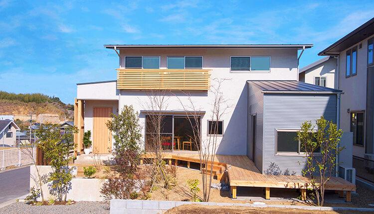 大分市内の狭小地で注文住宅を「日本ハウジング」で建てた