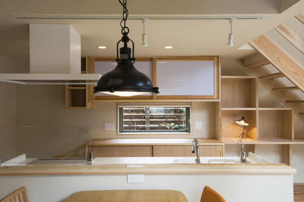 大分市の自然素材の木の家の注文住宅