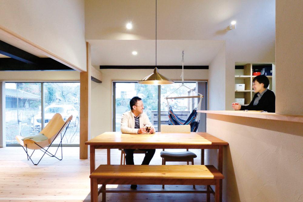 日本ハウジング株式会社で完全注文リノベーションを建てたお客様の声