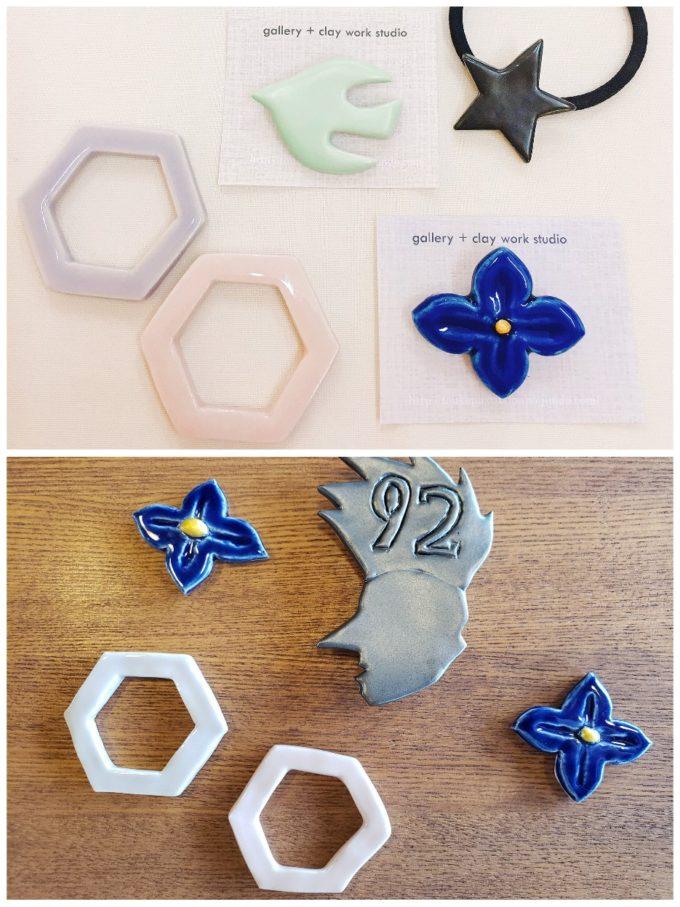 くらぼBookCafeの陶芸教室で作ったものたち