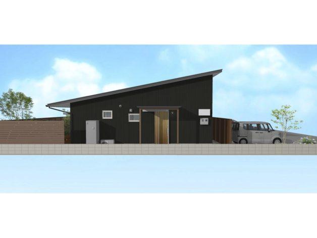 平屋タイプの府内町家セミオーダーの家の構造見学会へようこそ