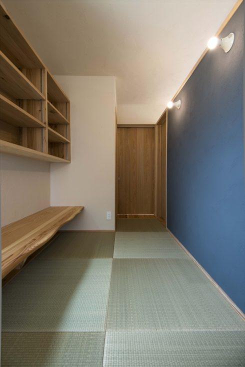 珪藻土の壁は和室にも馴染みます