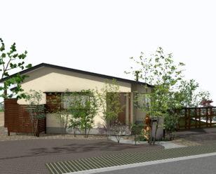 由布市にて住宅見学会を開催します。会場は高崎山がのぞめる大パノラマの家