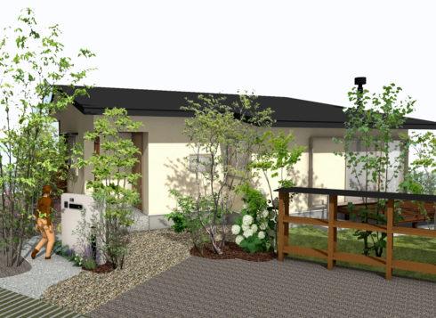 由布市にて完成見学会|高崎山の素晴らしい景色を一望できるダイニングの家