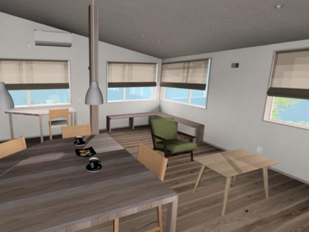 2階リビングの家 完成見学会
