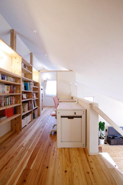 2階リビング|図書室